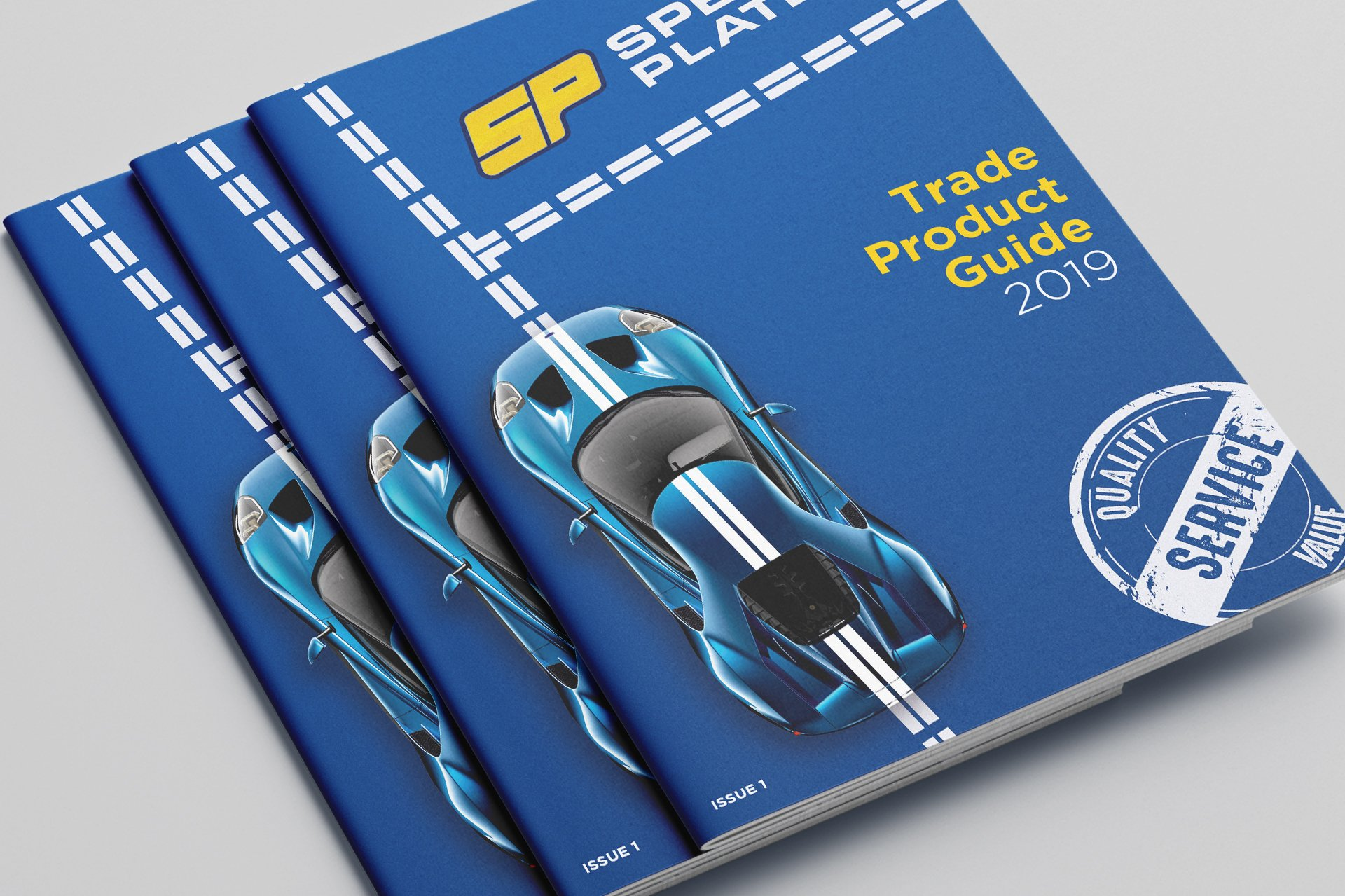 Perfect Bound Brochure