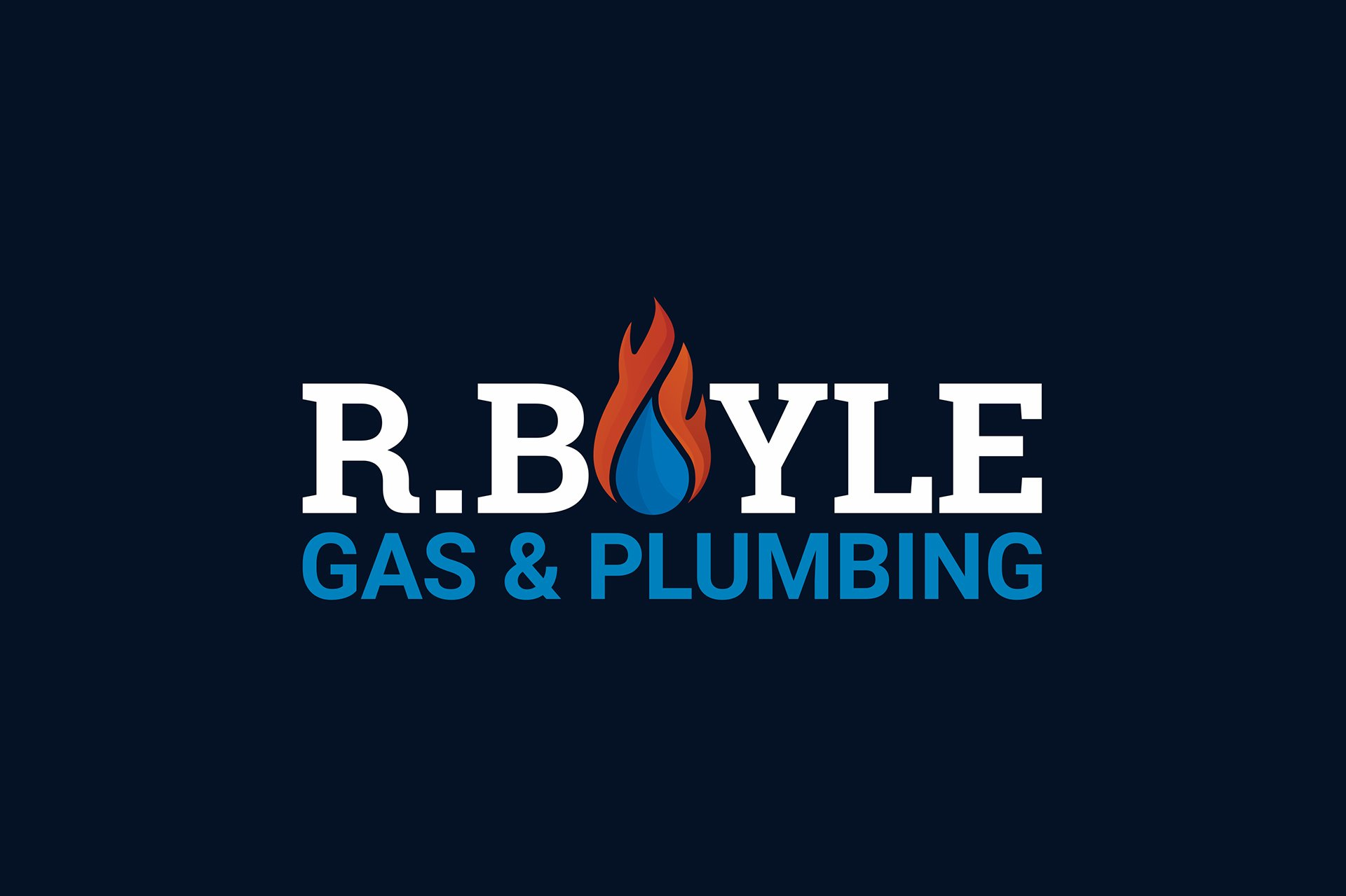 R.Boyle Gas and Plumbing Logo
